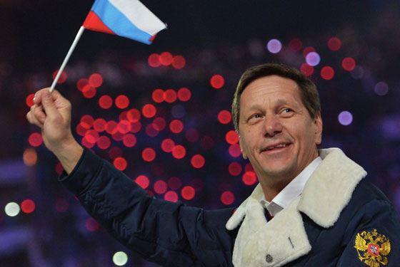 Александр Жуков - президент Олимпийского комитета