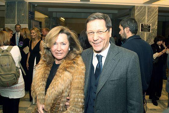Александр Жуков и его жена