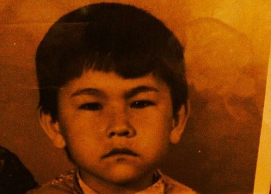 Азамат Мусагалиев в детстве