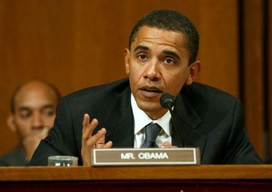 Сенатор Обама (2005 год)