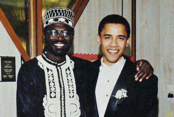 Малик Обама – сводный брат президента США