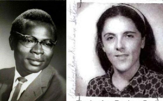 На фото: биологические родители Барака Обамы