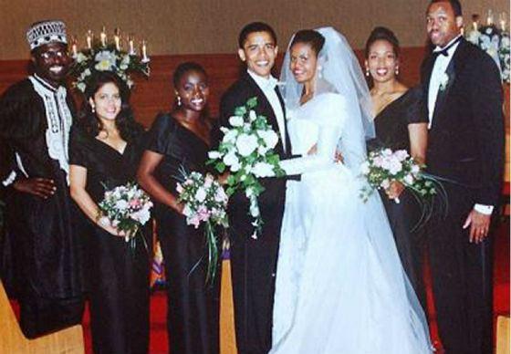 Свадьба Барака и Мишель Обама