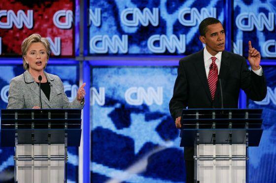 Дебаты: Барак Обама и Хиллари Клинтон