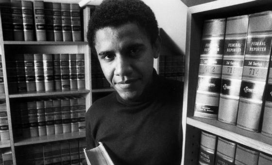 Барак Обама окончил Гарвард