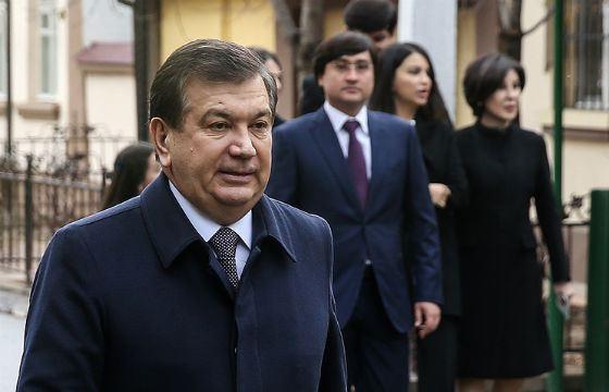 Новый президент Республики Узбекистан Шавкат Мирзияев