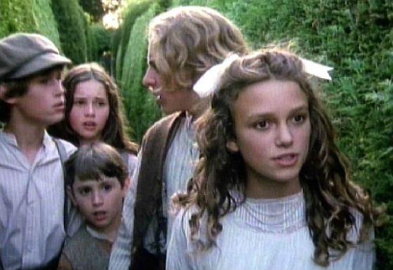 «Искатели сокровищ» – первая роль Фелисити Джонс (на фото сзади)