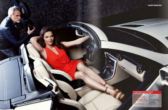 Елизавета Боярская в рекламе Mercedes