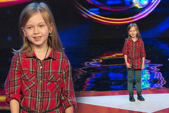 В 6 лет дочь Сергея Светлакова дебютировала в шоу Comedy Battle