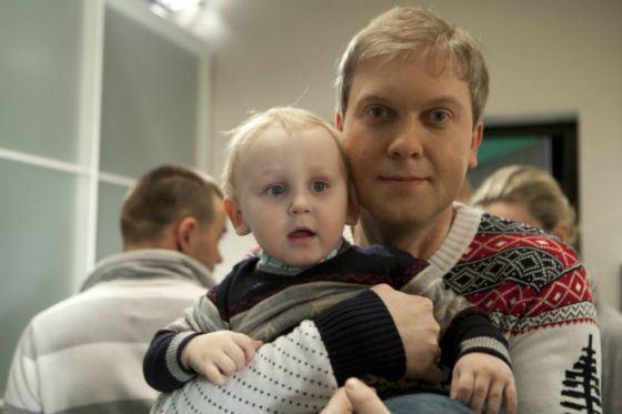 Сына Сергея Светлакова зовут Иван