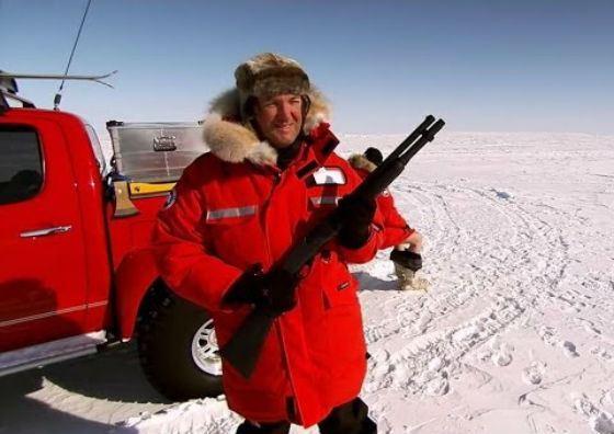 В 2007 ведущие Top Gear покорили Северный полюс