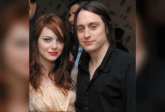 На фото: Эмма Стоун с Кираном Калкиным
