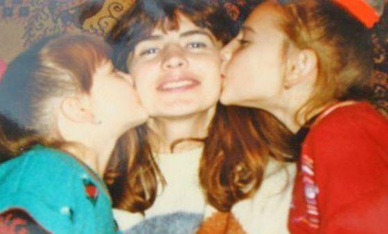 Ирина Агибалова с дочерьми
