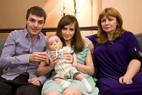 В 2009 году Ирина Агибалова впервые стала бабушкой