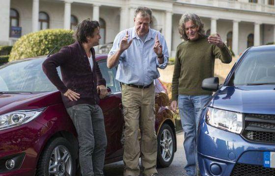 «Золотой состав» Top Gear: Кларксон, Хаммонд и Мэй