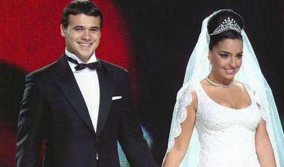 Свадьба Эмина и Лейлы Алиевой состоялась в 2006 году