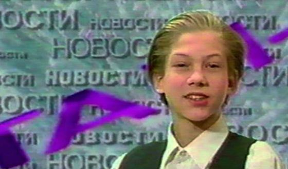 Маленький Борис Корчевников в шоу «Там-там новости»