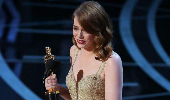 В 2017 году Эмма Стоун получила «Оскар» за роль в «Ла-Ла Ленд»