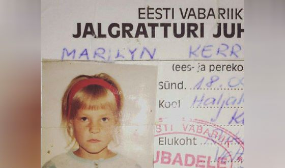 Мэрилин Керро родилась в Эстонии