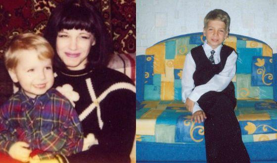 Детские фото Даниила Вахрушева