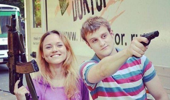 На фото: Даша Руденок и Игорь Огурцов