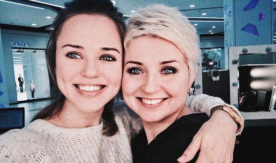 Дарья Руденок с мамой