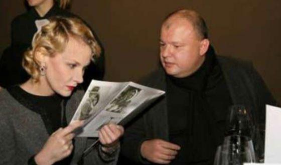 На фото: второй муж Ренаты Литвиновой Леонид Домбровский