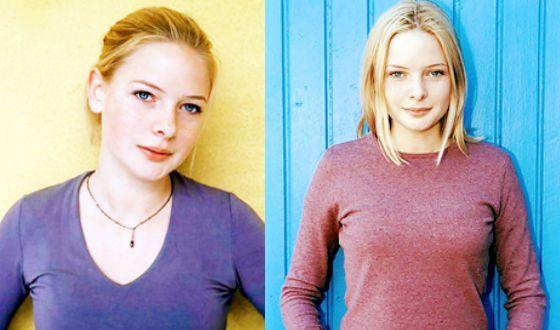 В молодости Ребекка Фергюсон была моделью