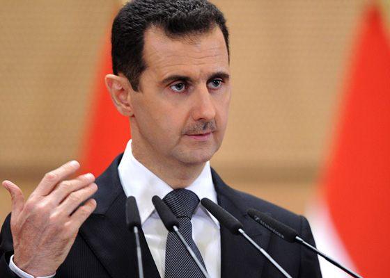 Сирийский политик Башар Асад