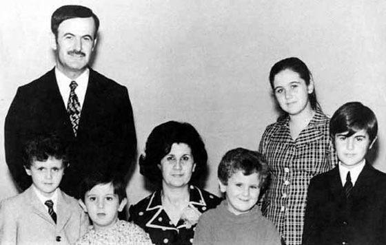 Башар Асад и его семья