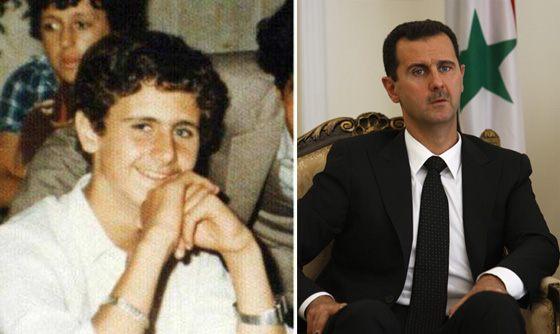 Башар Асад в молодости