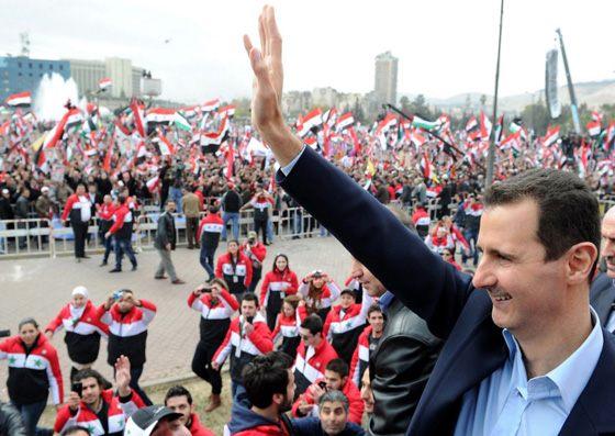 Правление Башара Асада вызвало народные волнения