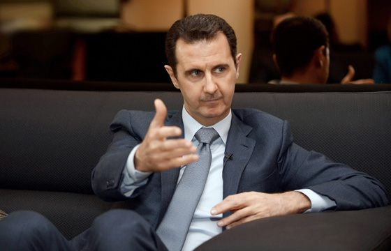 Сирия при Башар Асаде попала под санкции