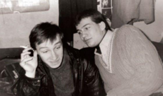 Молодой Андрей Чернышов (на фото: с Андреем Кайковым)