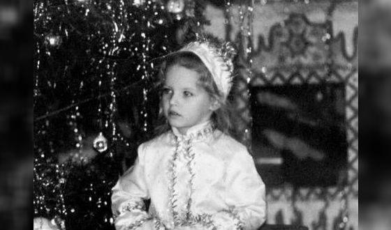 Полина Толстун в детстве