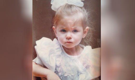 Софья Шуткина в детстве