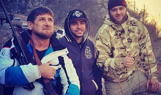 Тимати дружит с Рамзаном Кадыровым