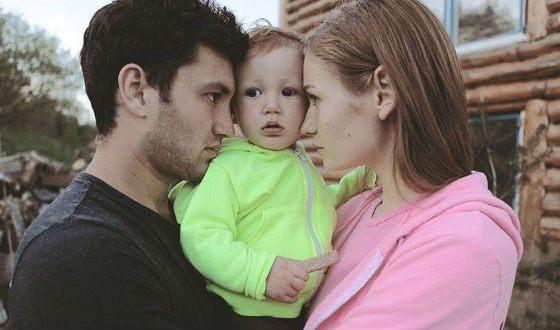 На фото: жена и сын Юрия Бардаша