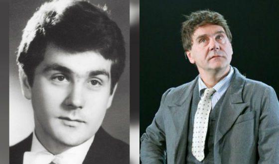 Сергей Маковецкий в молодости и сейчас