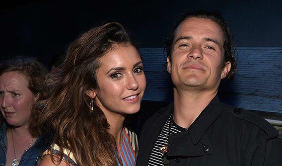 Орландо Блум и Нина Добрев начали встречаться в 2017 году