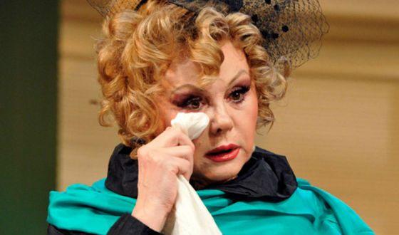 Наталья Селезнева в спектакле «Идеальное убийство»