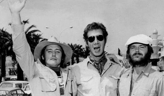 Джек Николсон, Деннис Хоппер и Питер Фонда, 1969 год