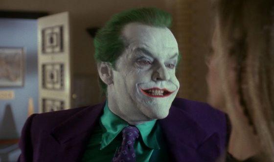 Одна из лучших ролей Николсона – Джокер из «Бэтмена» 1989 года