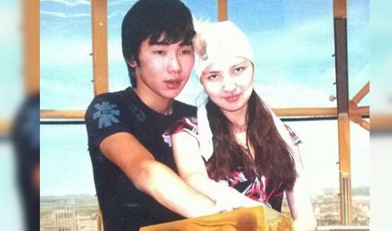 Редкое фото: юный Кайрат Нуртас с женой