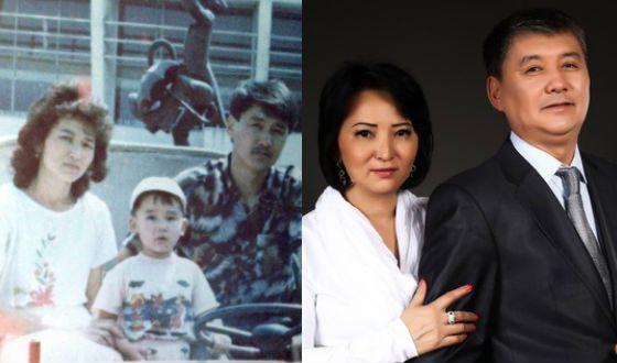 Кайрат Нуртас по-прежнему благодарит родителей за поддержку