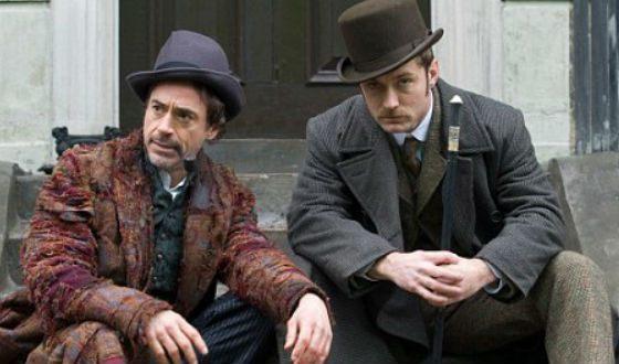 Роберт Дауни-младший и Джуд Лоу – еще одни Холмс и Ватсон