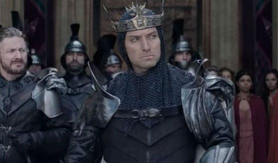 «Меч короля Артура»: Джуд Лоу в роли Вортигена