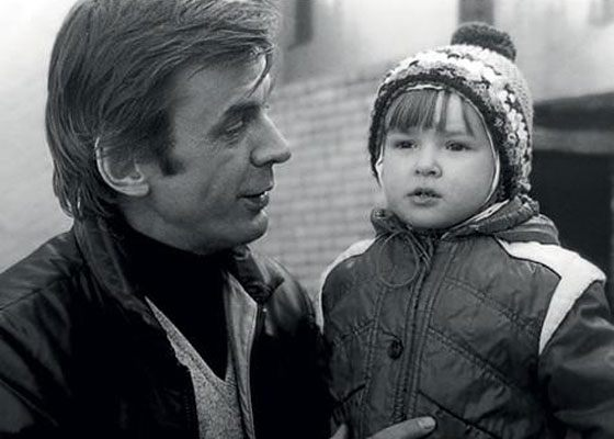 Анна Тараторкина и ее отец Георгий Тараторкин