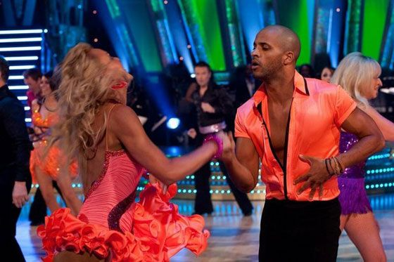 Рики Уиттл в шоу «Strictly Come Dancing»
