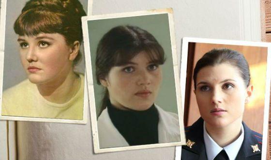 Слева направо: Жанна Прохоренко, Екатерина Васильева, Марьяна Спивак